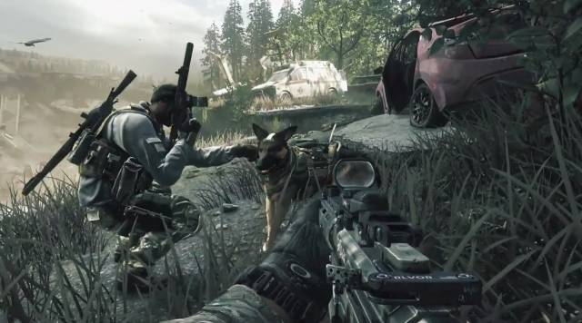 E3 2013: You Are the Dog in Call of Duty Ghosts