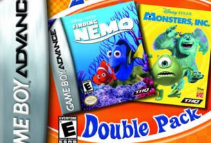 2 Games In 1 Double Pack: Finding Nemo + Monsters, Inc.