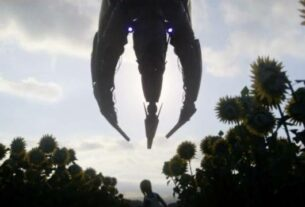 The Reapers Turn Their Gaze Towards Earth in Mass Effect 3