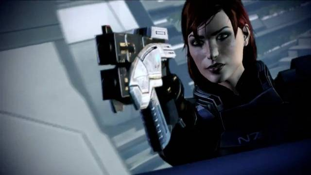 FemShep Enters The Fray in Mass Effect 3