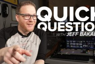 Quick Question with Jeff Bakalar: Ep. 02 – The Answer is Clearly Rubble