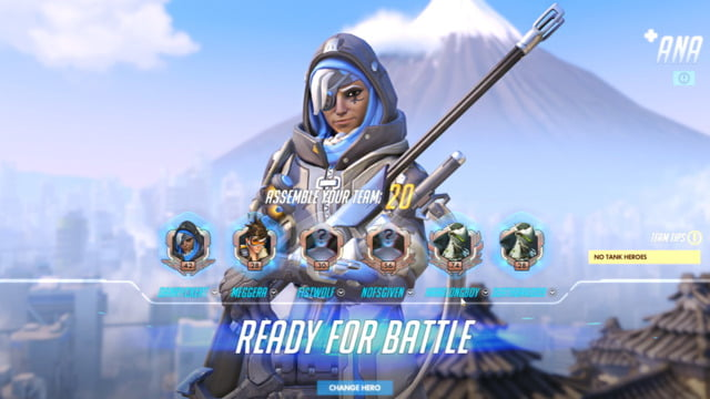 Quick Look: Overwatching with Ana